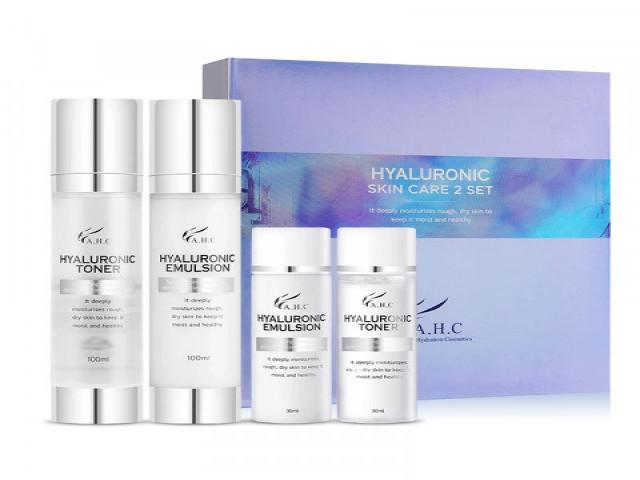 【A.H.C】玻尿酸神仙水保養組合Hyaluronic Skin Care Set / 4件入
