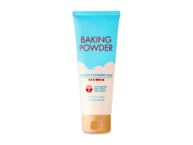 【ETUDE HOUSE】蘇打粉~極淨深層BB洗面乳 BAKING POWDER BB DEEP CLEANSING FOAM / 160ml