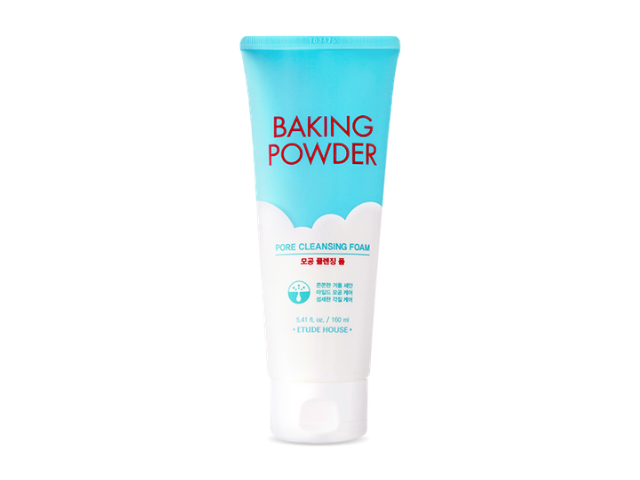 【ETUDE HOUSE】蘇打粉~極淨深層毛孔洗面乳 BAKING POWDER PORE CLEANSING FOAM / 160ml
