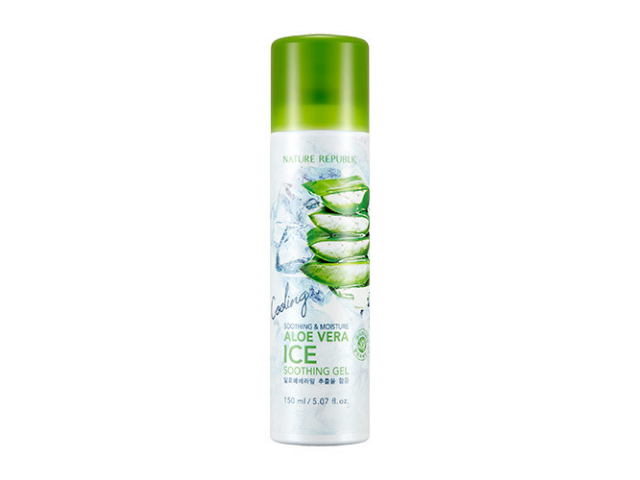 【Nature Republic】蘆薈冰涼噴霧SOOTHING & MOISTURE ALOE VERA ICE SOOTHING GEL / 150ml
