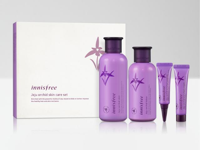 【innisfree】濟州寒蘭護膚套組Jeju Orchid Skin Care Set