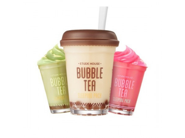 【ETUDE HOUSE】珍珠奶茶晚安凍膜 Bubble Tea Sleeping Pack / 3款